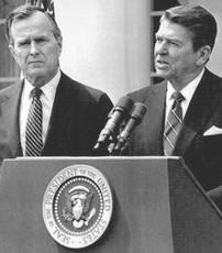 George Bush y Ronald Reagan, objetos de estudio de la Universidad de Arizona.