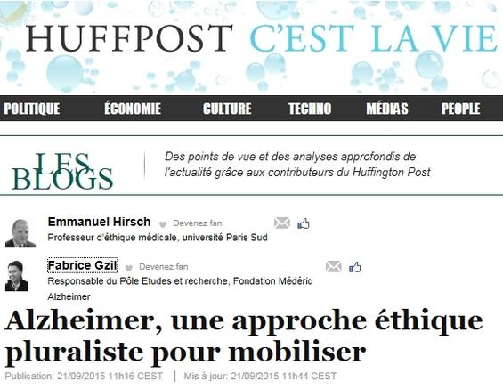 'Alzheimer, una aproximación ética pluralista para movilizar' se titula el artículo. Clic en la imagen para acceder a la versión original.